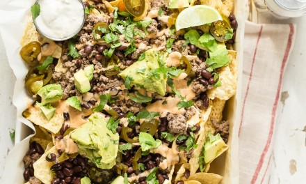 Loaded Taco Style Nachos