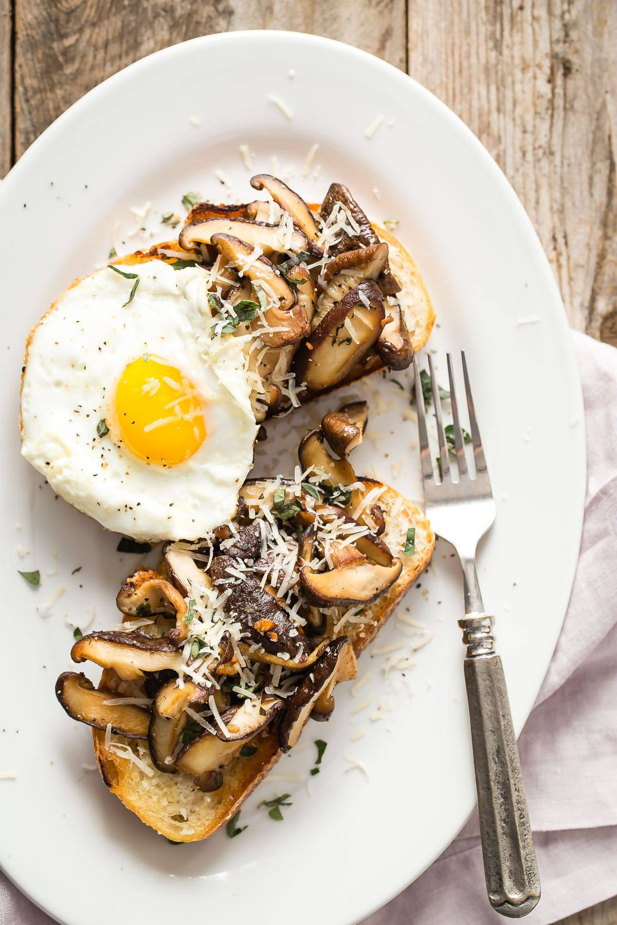 Breakfast Garlic Toast Recipe — Dishmaps