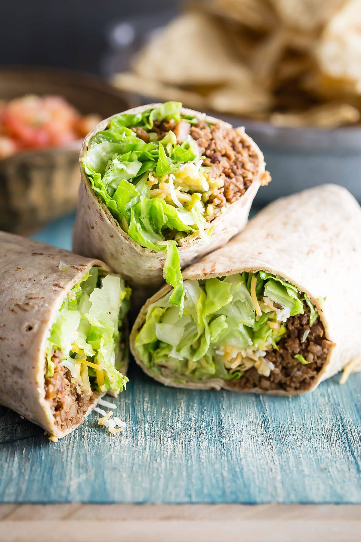 Easy California Taco Wrap