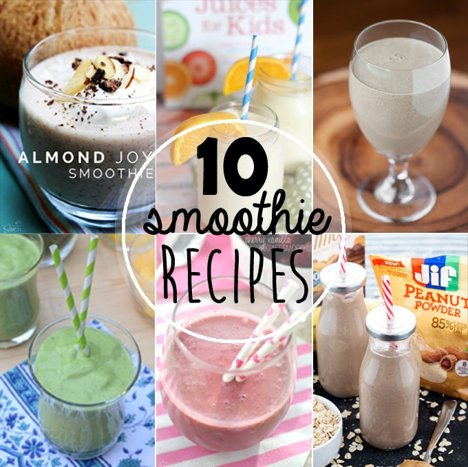 Top Ten Amazing Recipes For Smoothies