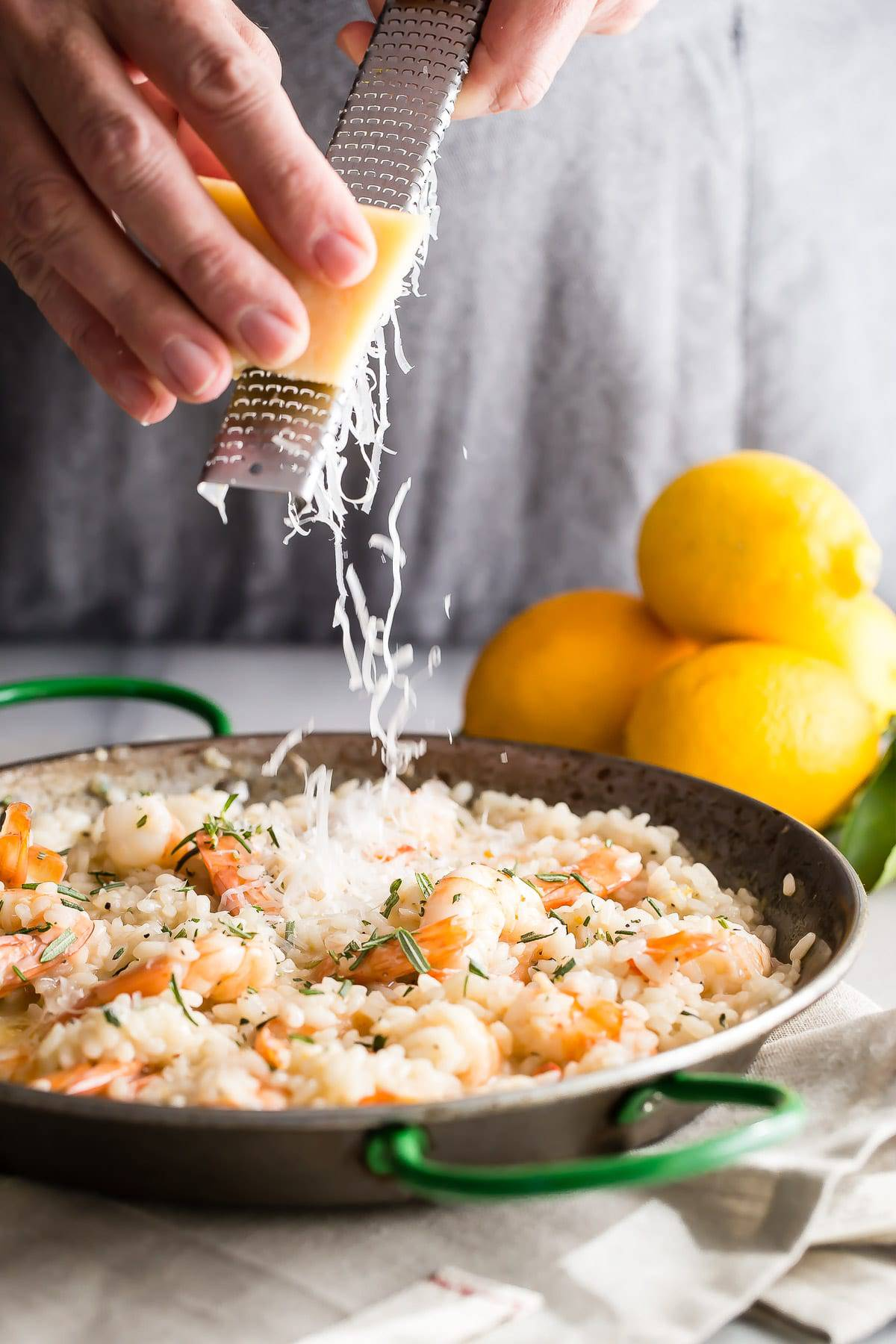 Lemon Shrimp Risotto