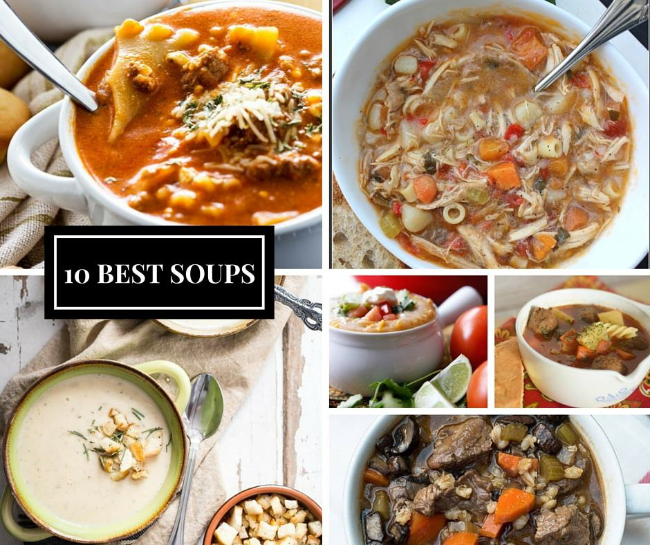 10 BEST SOUP Recipes