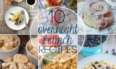 Ten Amazing Overnight Brunch Recipes