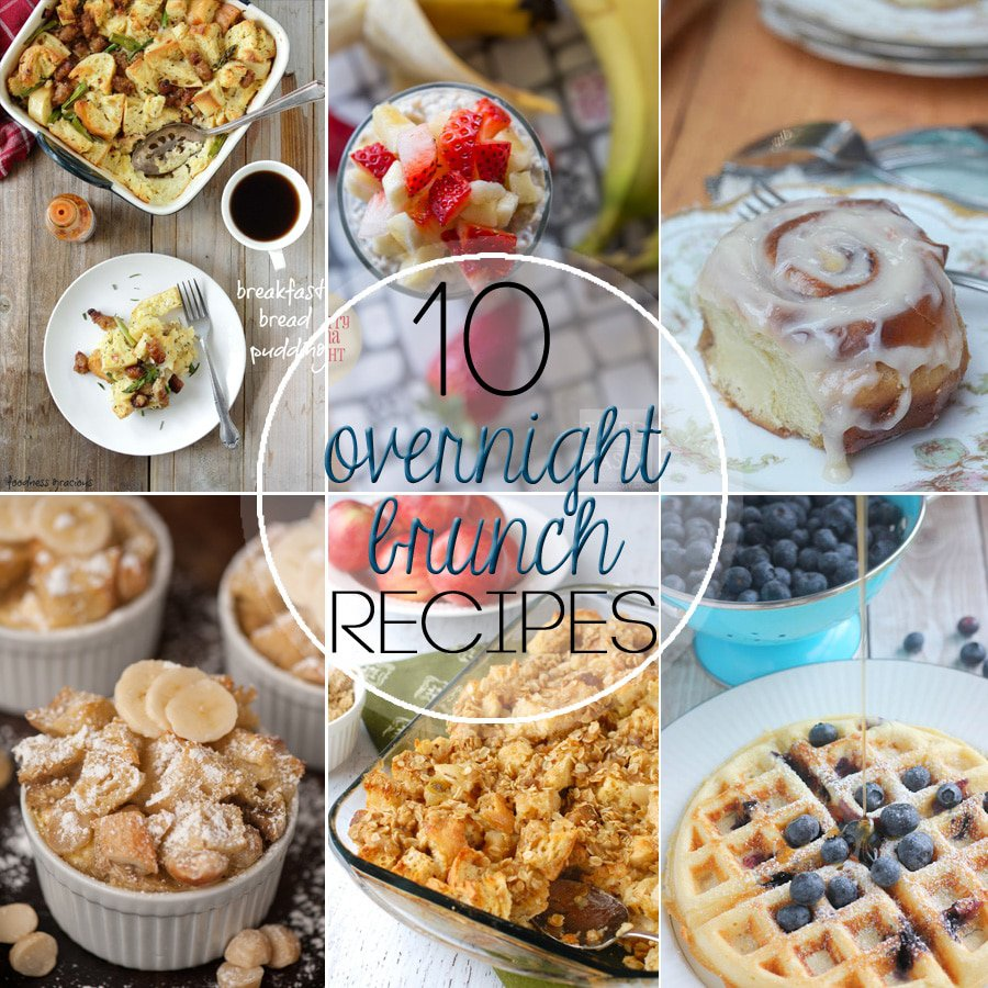 Ten Amazing Overnight Brunch Recipes