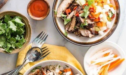 Banh Mi Chicken Rice Bowl
