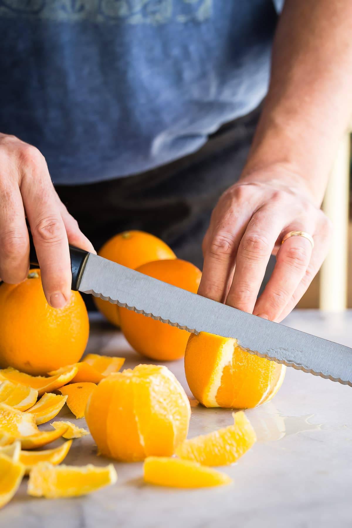 Pan Seared Scallops with an Orange Mango Quinoa Salsa