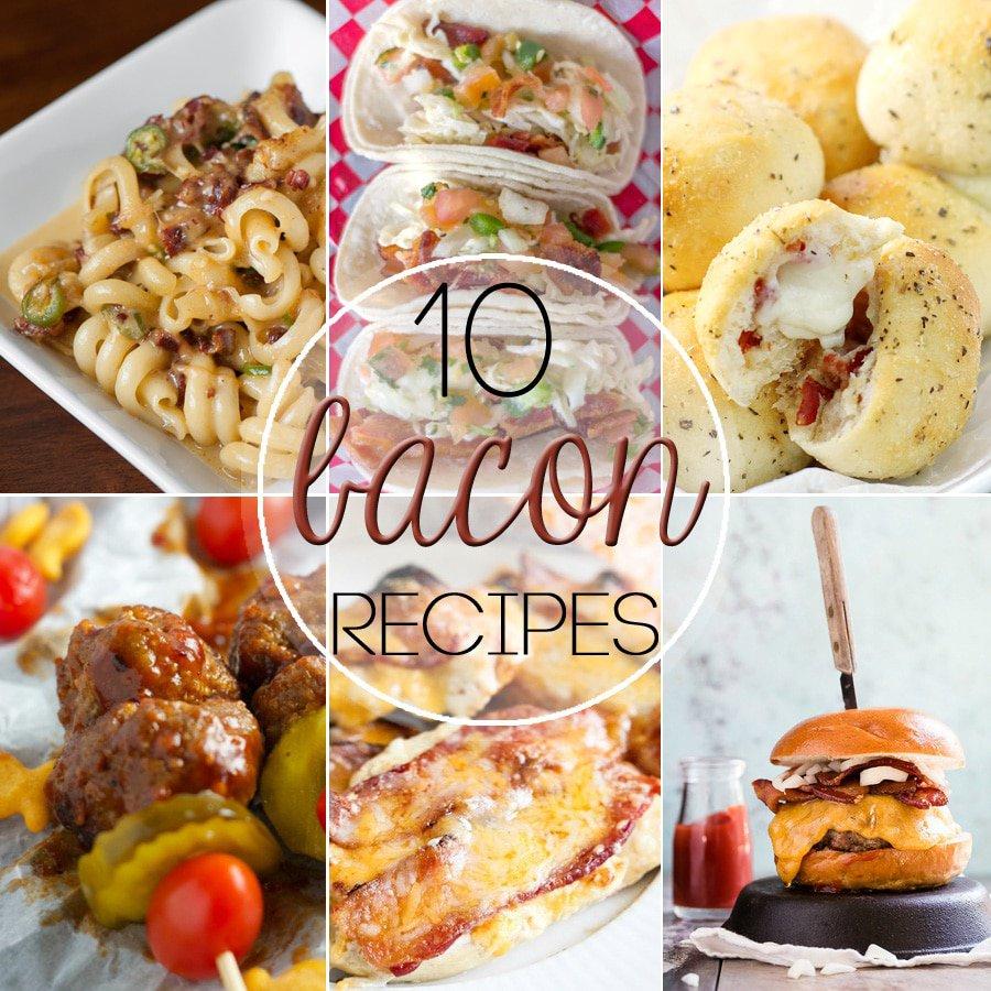 Ten amazing Bacon Recipes