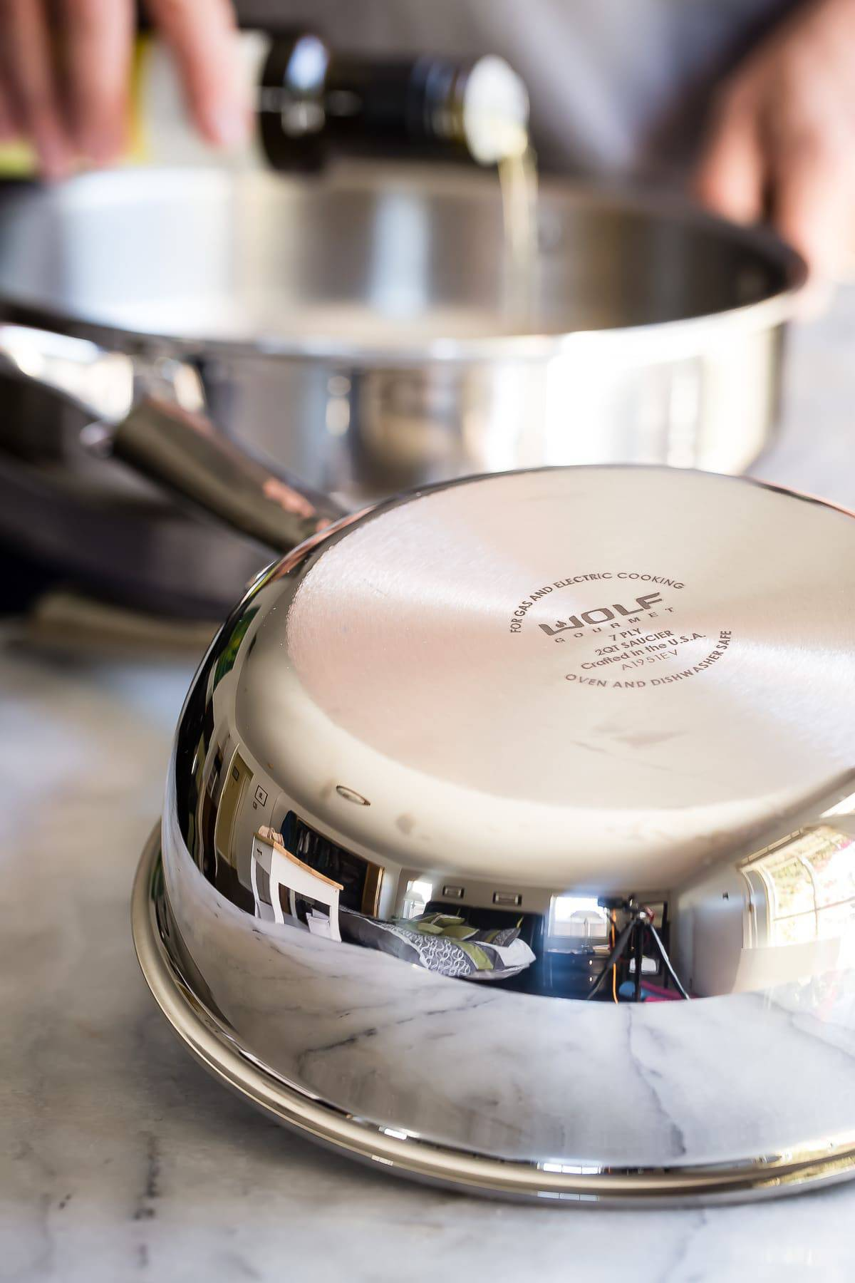 Cooking with brand new Wolf Gourmet pans