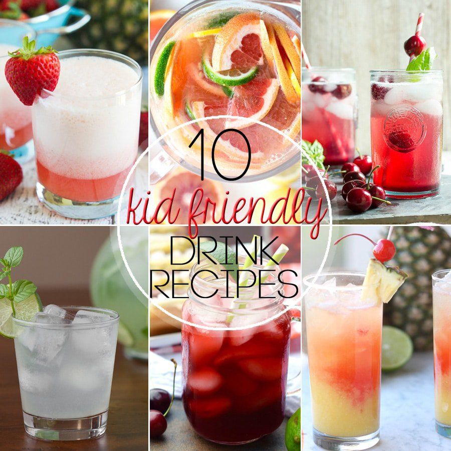 Ten Fantastic Kid Friendly Drinks