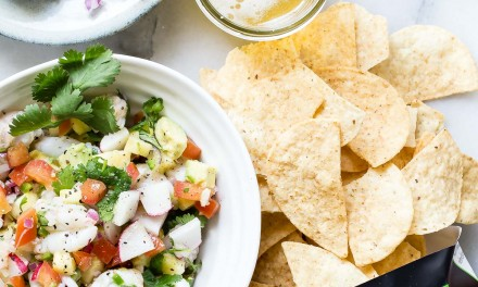 Shrimp Ceviche with Pineapple and Avocado