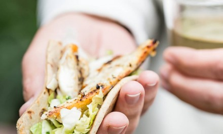 Grilled Tilapia Fish Tacos with Flatout Foldits