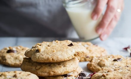 Easy Chocolate Trail Mix Cookies