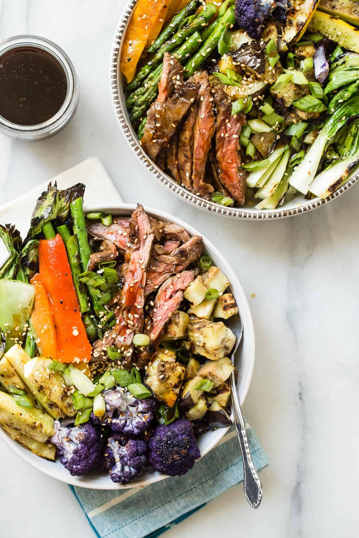Beef Teriyaki and Freekeh Mega Bowl