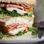 Bacon Lettuce Tomato (BLT) with Grilled Chicken