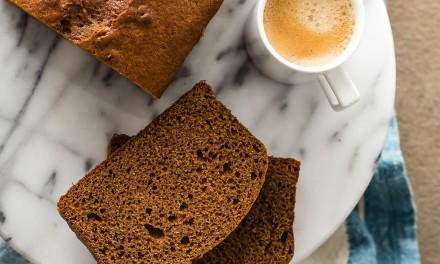 Sticky Gingerbread Loaf Cake