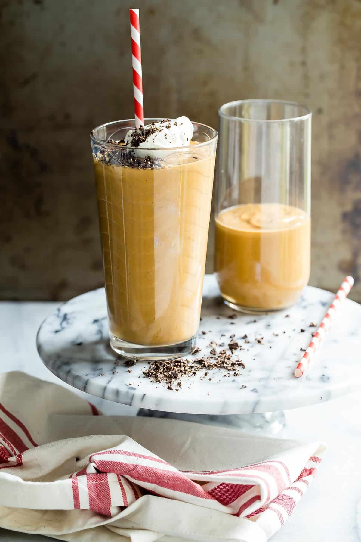 Pumpkin Spice Nutella Smoothie