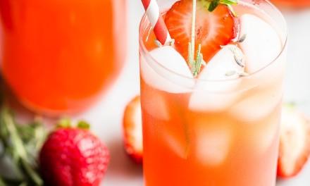 Strawberry Lavender Lemonade