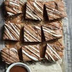 Chai Spice Salted Chocolate Brownies