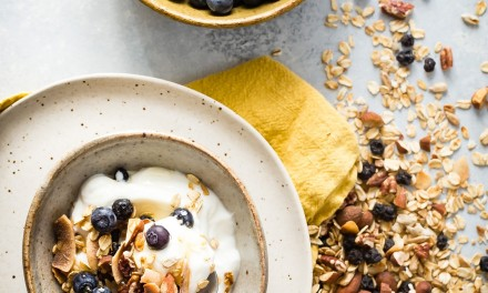 Homemade Blueberry Granola