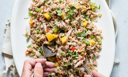 Easy Fried Rice with Crab Meat