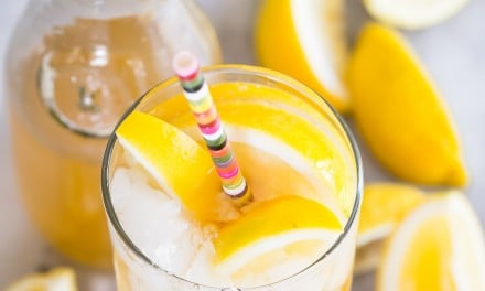 Arnold Palmer Sangria with White Wine and Honey