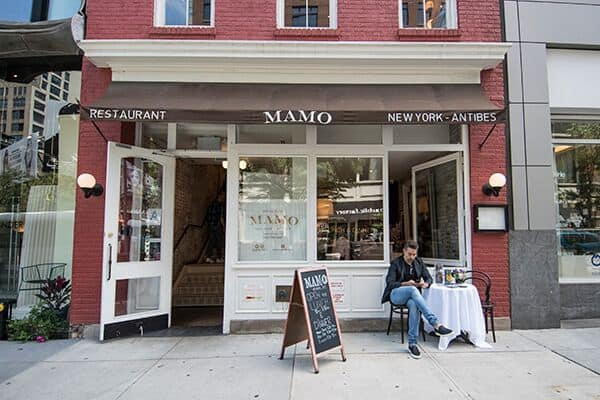 MAMO Italian restaurant, NYC