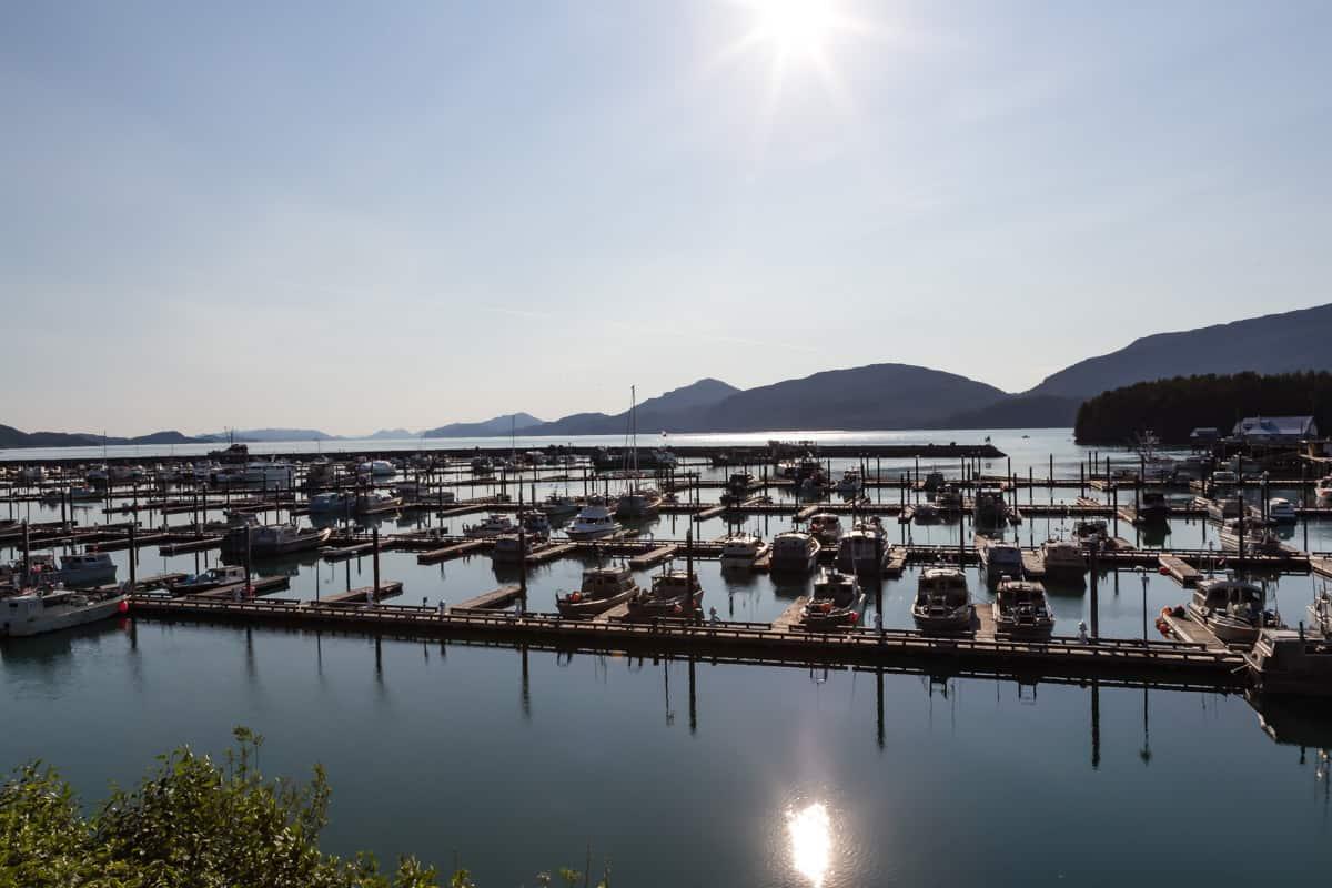 Cordova harbor, Alaska