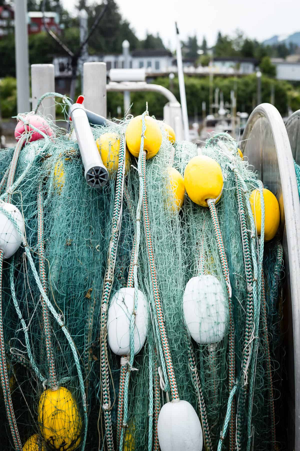 Fishing nets for salmon