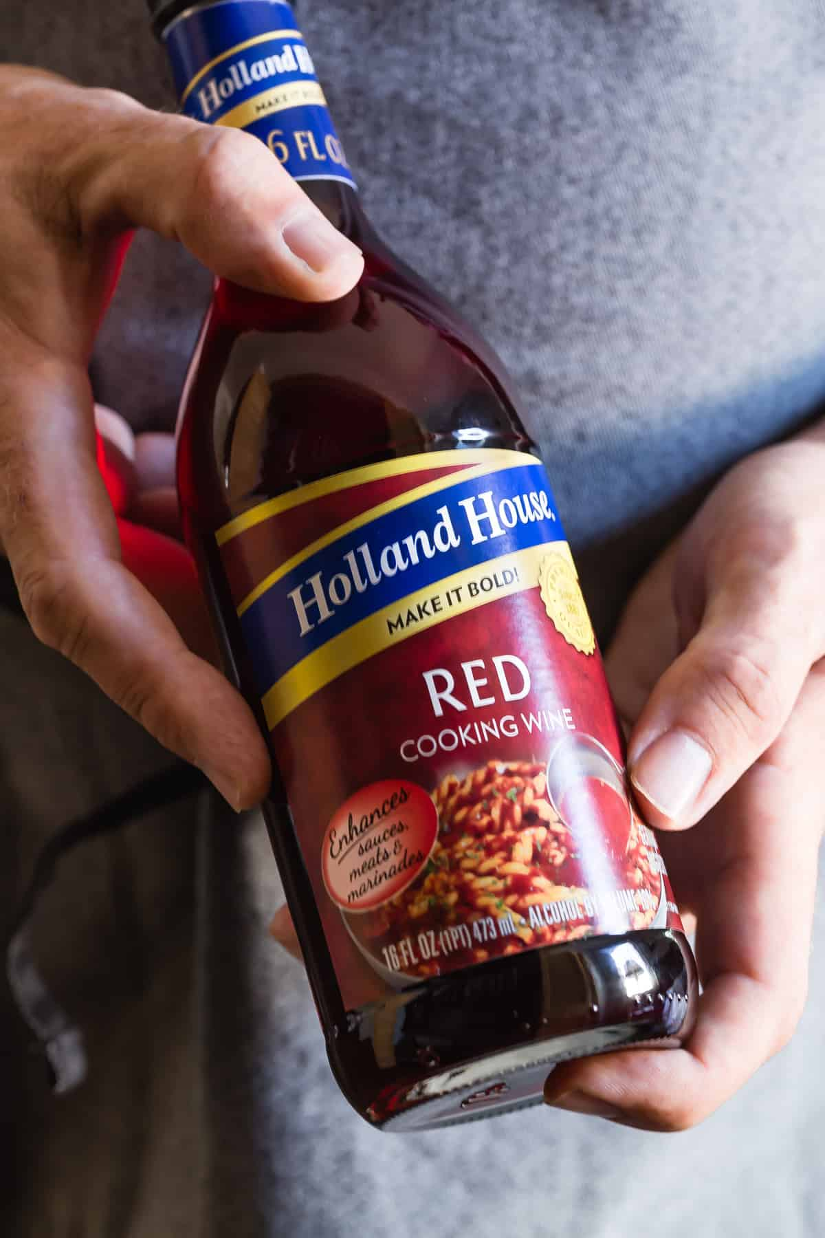 This Holland house Cooking Wine is the secret ingredient in my beef casserole!