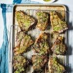 Lamb Loin Chops with Mint Pesto