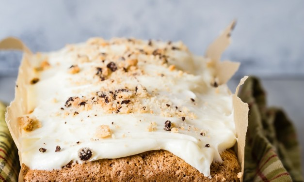 Spiced Apple Cake with Cream Cheese Frosting