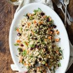 Cauliflower Rice Cranberry Pilaf