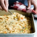 Turkey Pot Pie Mac and Cheese