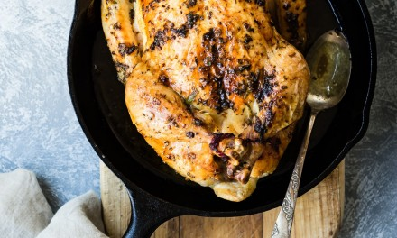 Easy Roast Chicken with Sage