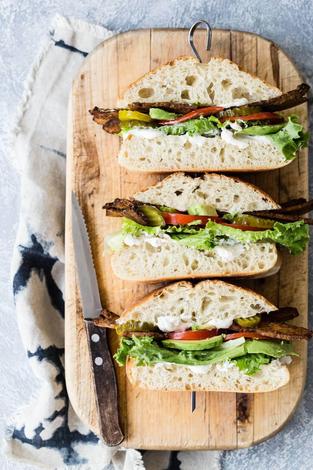 TTLA Vegan Sandwich