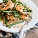 Easy Shrimp and Green Beans with Coconut Milk