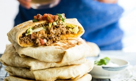 Ground Lamb Crunchwrap Supreme