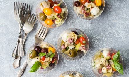 Individual Antipasto Salad Cups