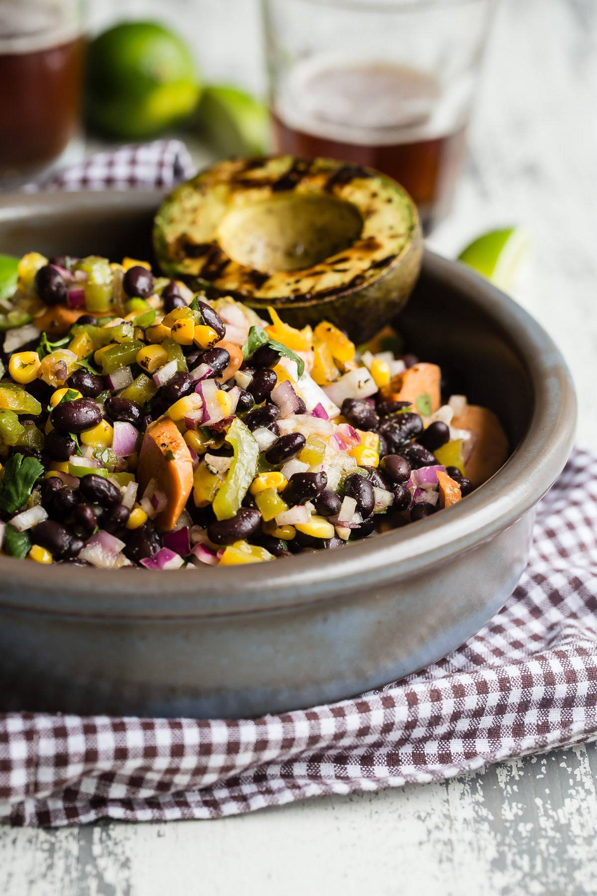 super tasty black bean salad