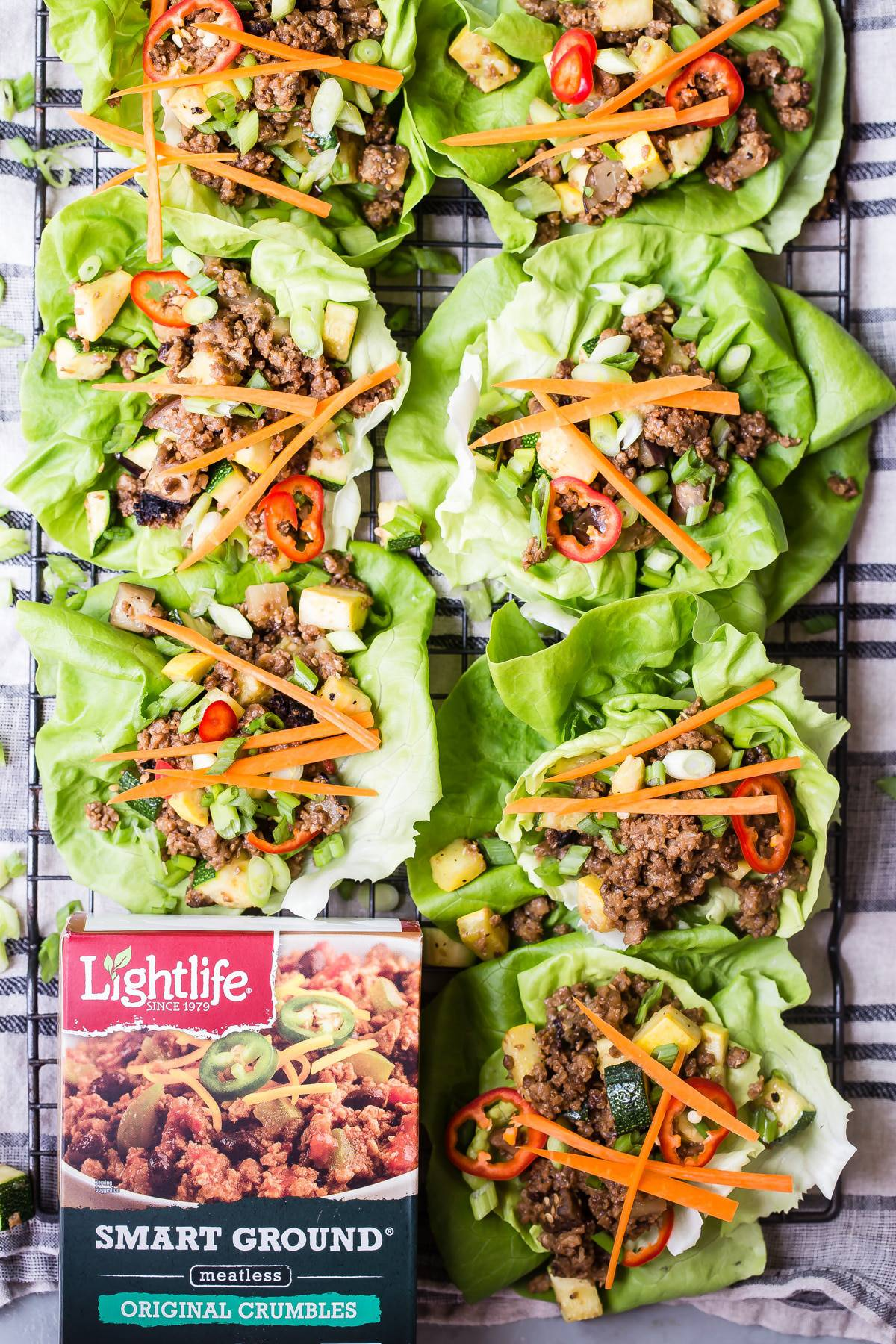 Yummy lettuce wraps and soy ginger sauce