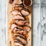 Grilled Tri Tip with Homemade BBQ Sauce