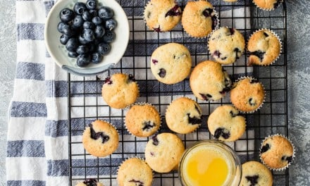 Mini Blueberry Muffins – Back To School