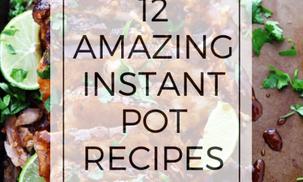 Twelve Best Instant Pot Recipes for the Fall