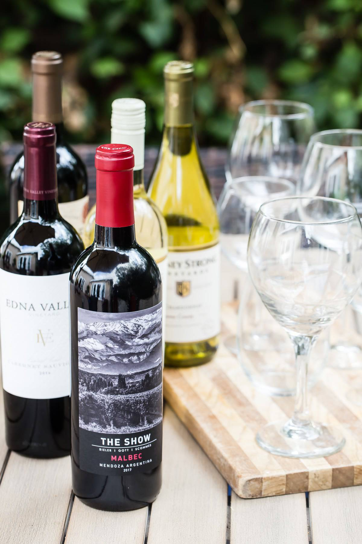 my five awesome wine choices