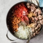 One Pot Beef Chili with Bacon