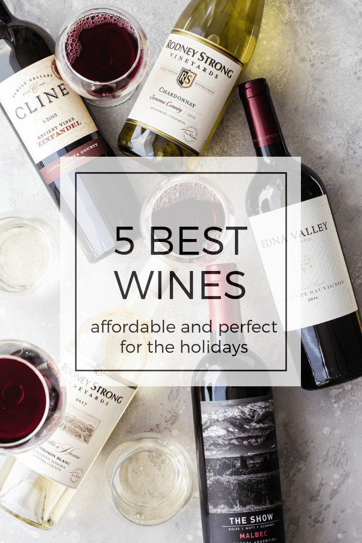5 awesome wine choices