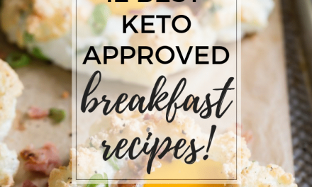 Twelve Best Keto Breakfast Recipes