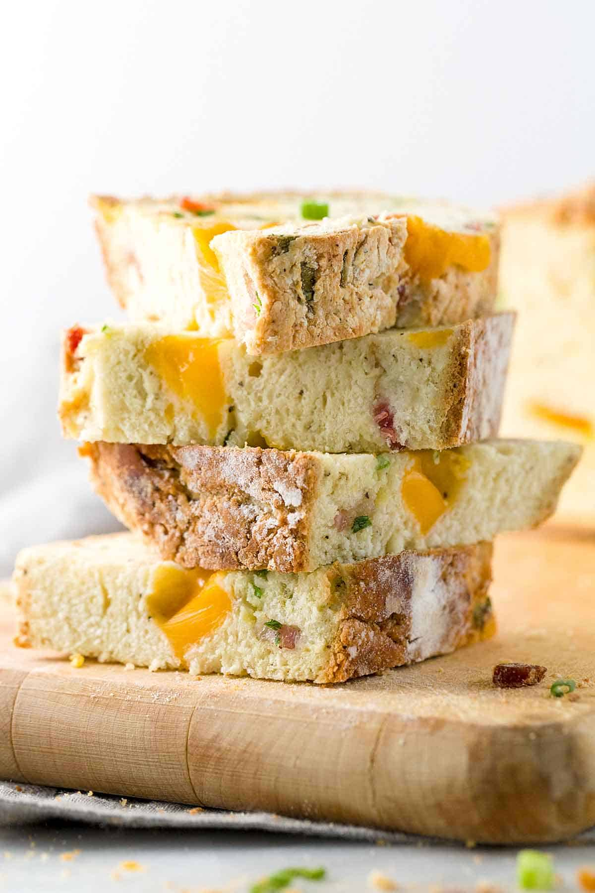 cheddar bacon irish soda bread