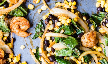 Cajun Shrimp Sheet Pan Dinner Recipe