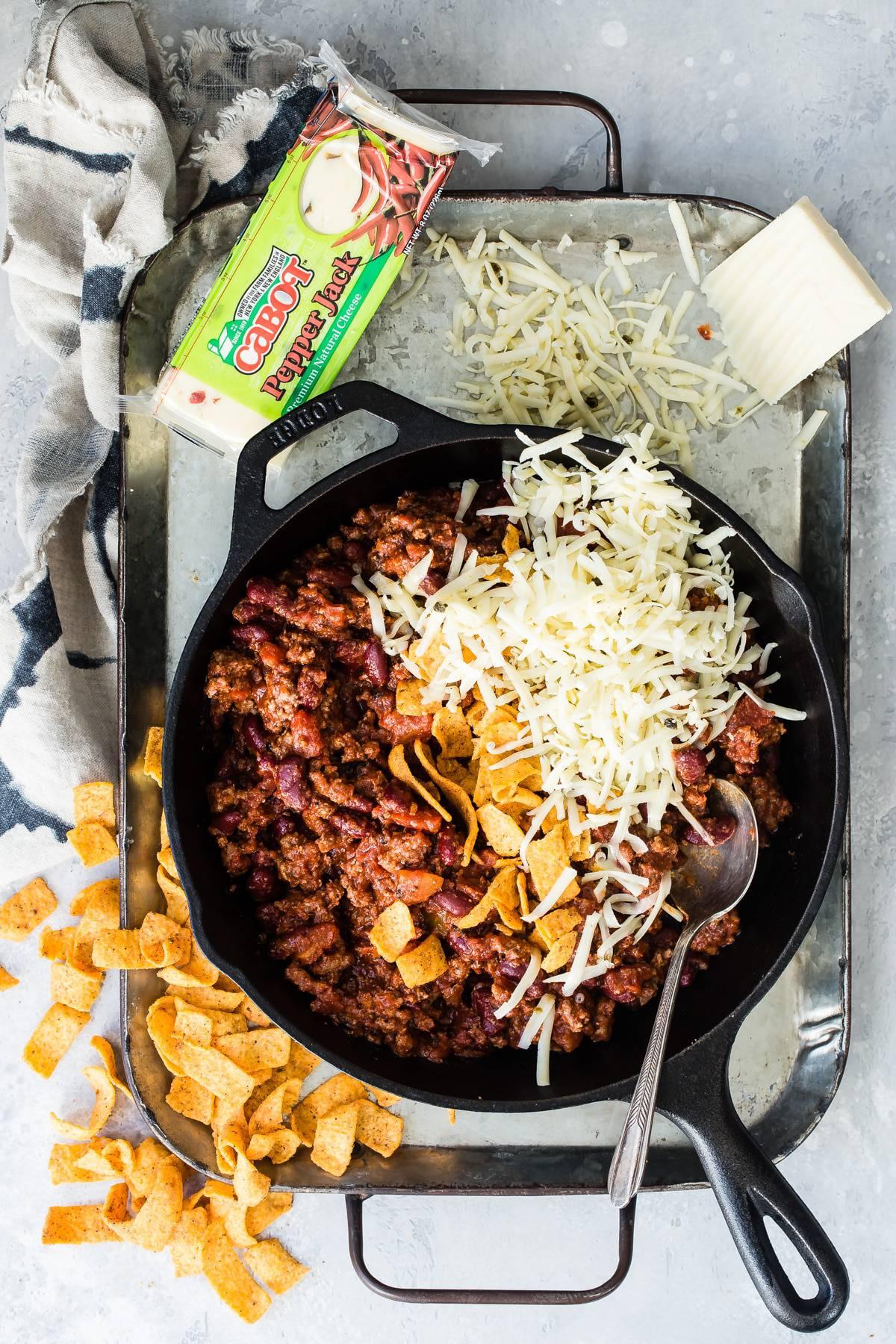 cheese chili cheese dip